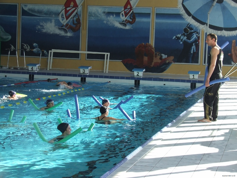 Aquagym aix en provence for Piscine universitaire aix